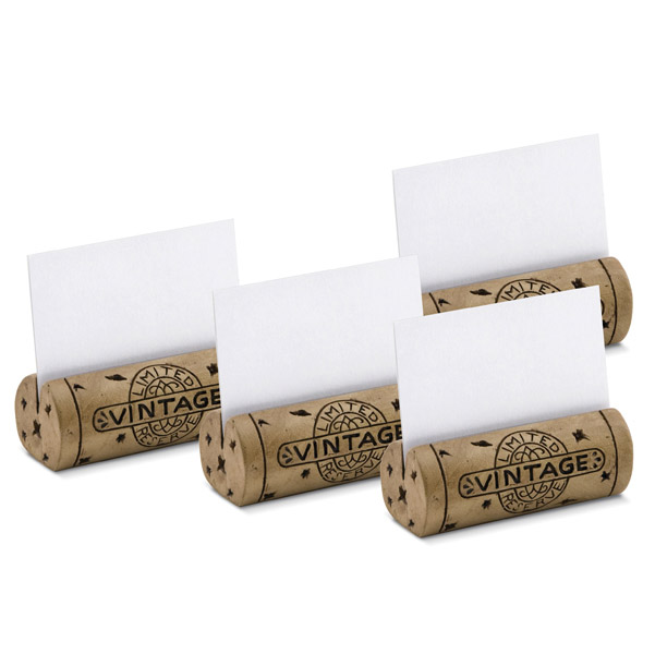Got Cork?™ Table Place Card Holder Set
