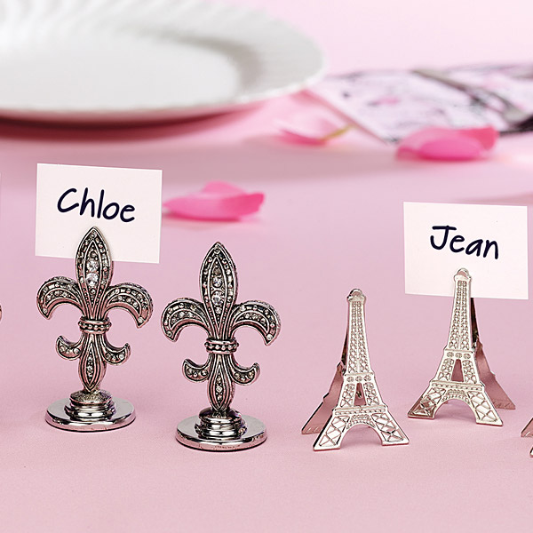 eiffel tower place card holders eiffel tower place card holders