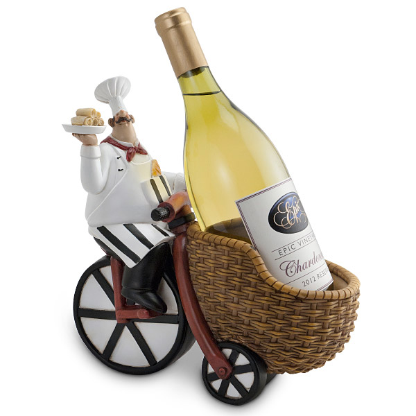Decorative Wine Bottle Holders Cool Pastry Chef Bottle Holder  Everythingbutwine Review