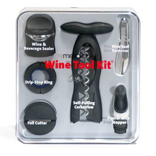 6 Piece Deluxe Wine Tool Kit Everythingbutwine Com