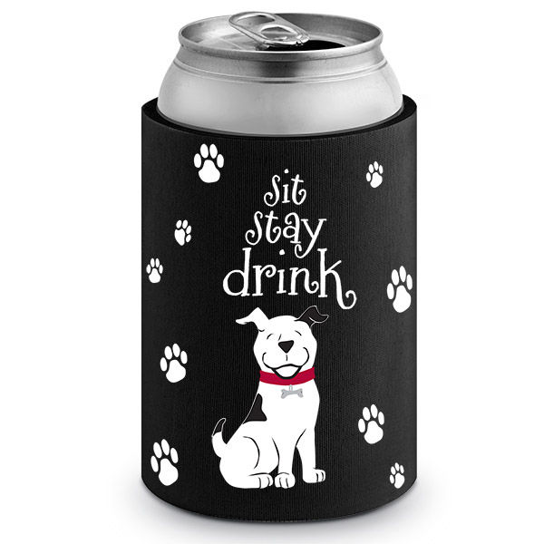 Sit Stay Drink Neoprene Can Epicoozie