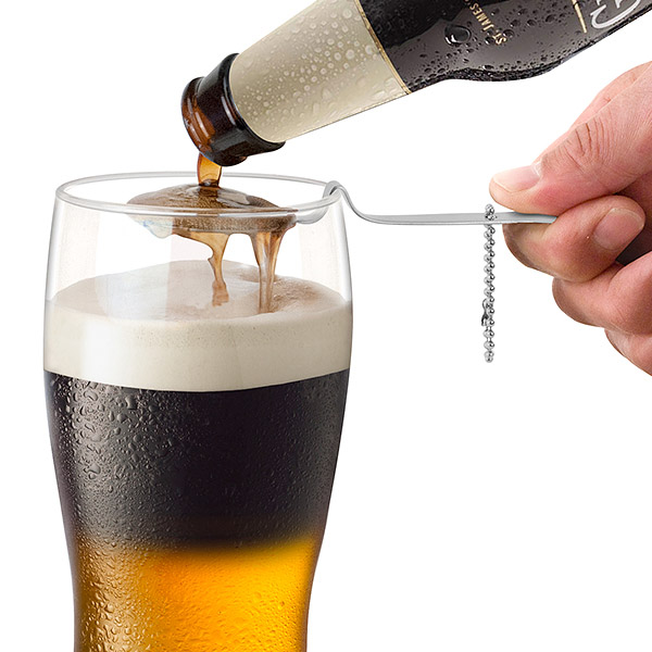 how to open beer with spoon