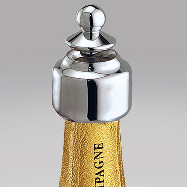 Auto-Close Pour & Seal for Champagne (Made in Italy)