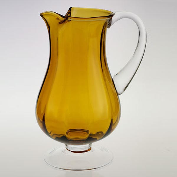 Amber Optic Pitcher Impressions Everythingbutwine Com