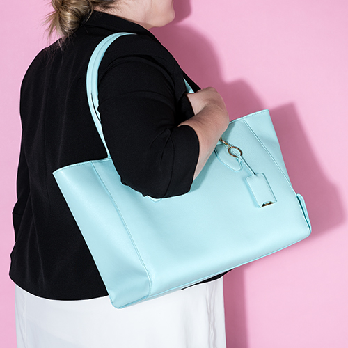 Insulated Tote Aqua by Blush