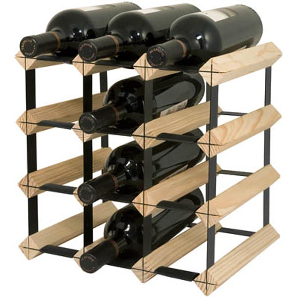 12 Bottle Wine Rack By Final Touch Everythingbutwinecom