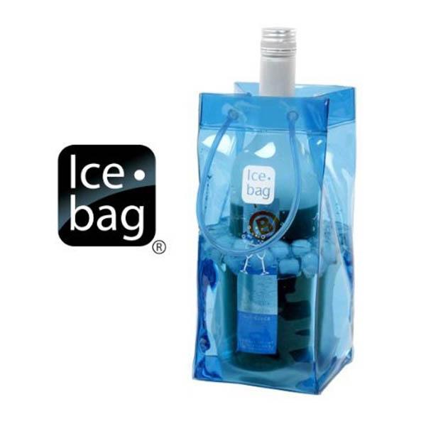 Wine Ice Bag Blue
