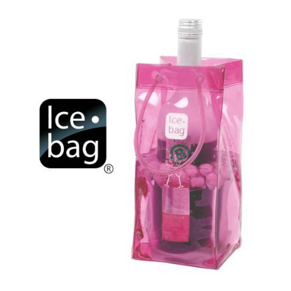 Wine Ice Bag Pink