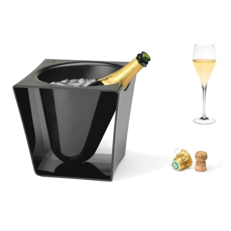 seau equinoxe wine champagne bucket. Black Bedroom Furniture Sets. Home Design Ideas