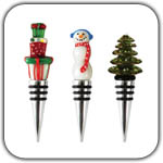 Christmas Bottle Stoppers